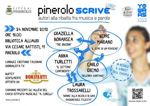 Pinerolo scrive 2012 - 24 novembre - Biblioteca di Pinerolo