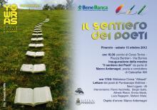 """Inaugurazione della mostra """"Il sentiero dei Poeti"""" 13-10-2012 Pinerolo"""