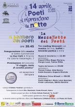I Poeti si riprendono la notte - 14 aprile 2012 - Pinerolo (To)