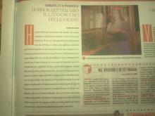 Notte Horror in Biblioteca - articolo su Torinosette 26-10-2012